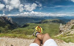 Dolomites Landscape and Cloudscape Fotografía