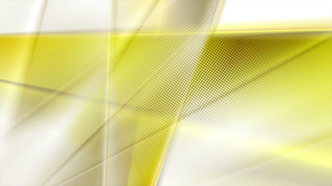 Yellow smooth stripes abstract video animation Animation