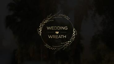 Gold Wedding Titles After Effects Template