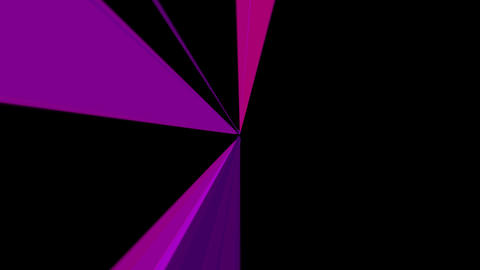 Abstract colorful light background alpha channel motion video.Perspective light effect motion Animation