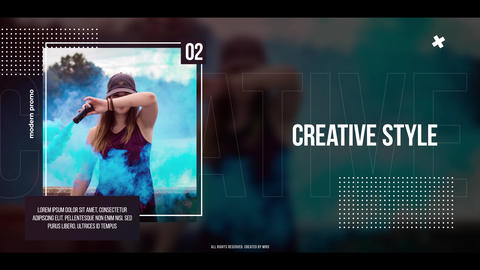 Modern Promo After Effects Template