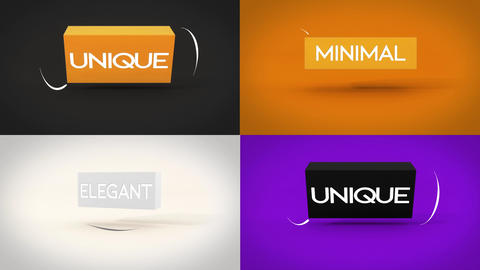 Fast And Simple Cube Logo Reveal Motion Graphics Template