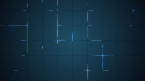 Grid for virtual futuristic interface HD video.Motion... Stock Video Footage