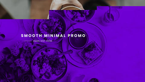 Clean Short Promo After Effects Template