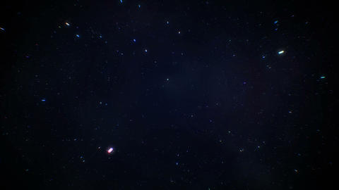 [alt video] Starfields in space with hyper speed jump into another...