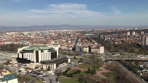 Aerial view of Sofia GIF