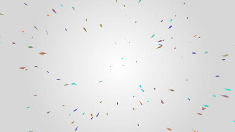 Abstract modern colorful dots splash movement on grey background motion Live Action