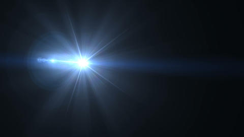 Abstract sun burst with digital lens flare background.Abstract digital lens flares special lighting Live Action