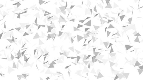 Abstract geometric background.Abstract polygonal background motion video Live Action