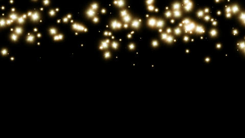Abstract stars glowing decoration background video... Stock Video Footage