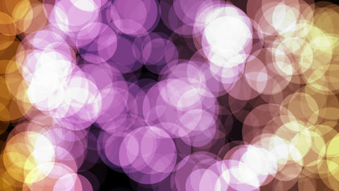 Ambient abstract bokeh particles background motion HD video.Beautiful Abstract Background Footage