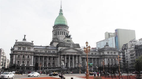 Palace Of The Argentine National Congress Live Action