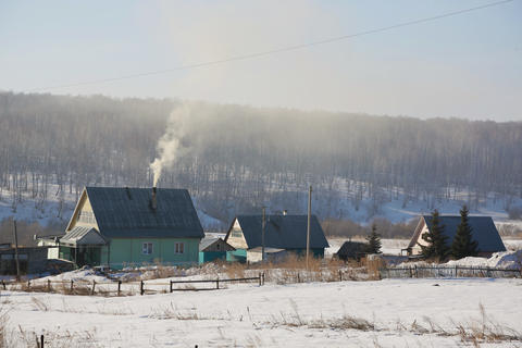 Russian village 001 Photo