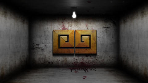 SCARY HALL LOGO INTRO After Effects Template