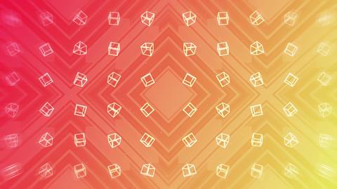 Red and yellow. Modern gradient for business design. Abstract rainbow background in pastel colorful Animation