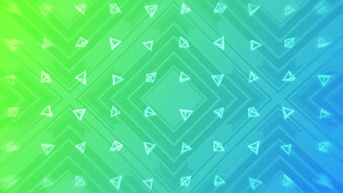 Green and blue. Modern gradient for business design. Abstract rainbow background in pastel colorful CG動画