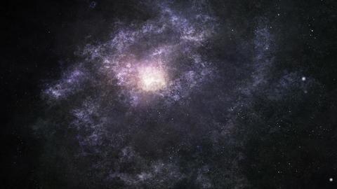 Flight through the galaxy Videos animados
