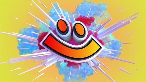 Amazing explosion emoticon animation Animation
