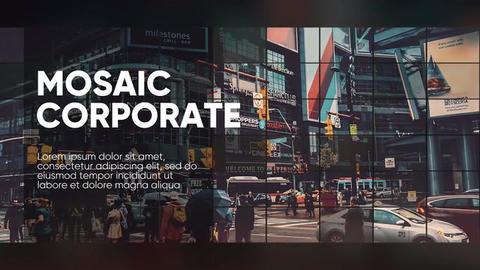 Corporate - Mosaic Promo // Premiere Pro Premiere Pro Template