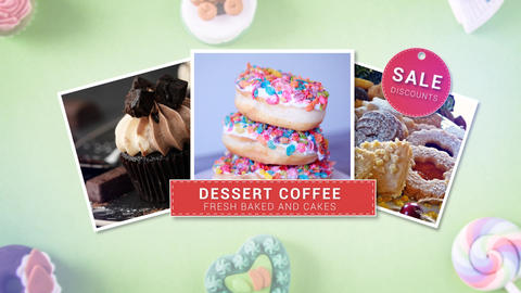 Bakery Slideshow After Effects Template