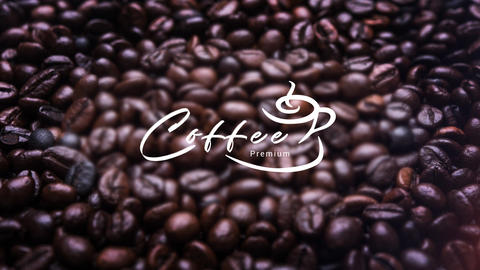 Coffee Logo After Effects Template