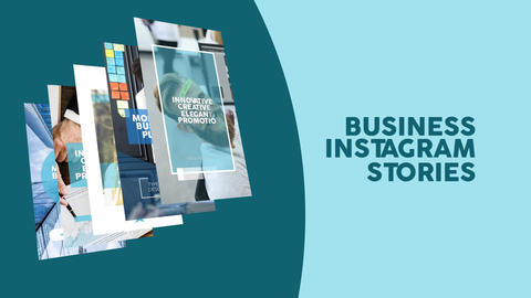 Business Instagram Stories After Effects Template