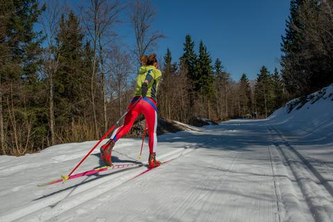 cross country skiing Photo