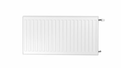 White heating radiator CG動画素材