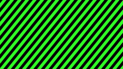 Green and black strip background seamless loop. 4k Animation