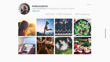 Insta Slideshow After Effects Project