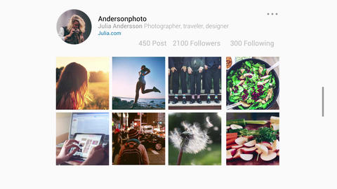 Insta Slideshow After Effects Template