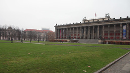 Altes Museum on the museum island in berlin Stock Video Footage