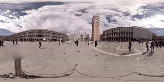 St. Mark's Square in Venice, Italy - 360° VR VR 360° Video