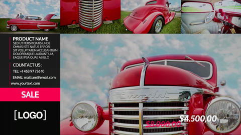 Cars & Cars SlideShow After Effects Template