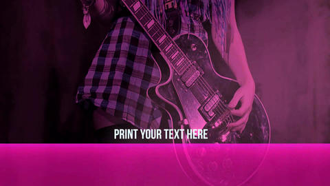 High Voltage Rock Slideshow After Effects Template