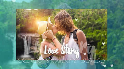Love Story Slideshow After Effects Template
