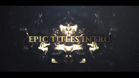 EPIC CINEMATIC TITLES INTRO After Effectsテンプレート