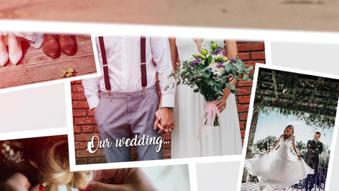 Multiframe Wedding Slideshow 8K Premiere Pro Template