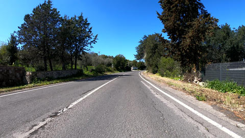 car travels on the road Footage