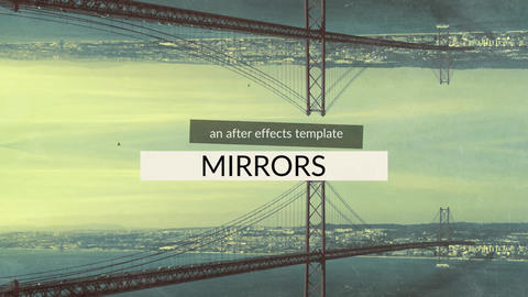 Mirrors After Effects Template