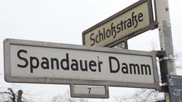 berlin street information boards Footage