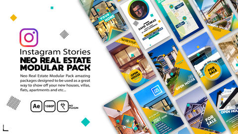 Neo Real Estate Package After Effects Template