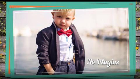 Kids Gallery Premiere Pro Template