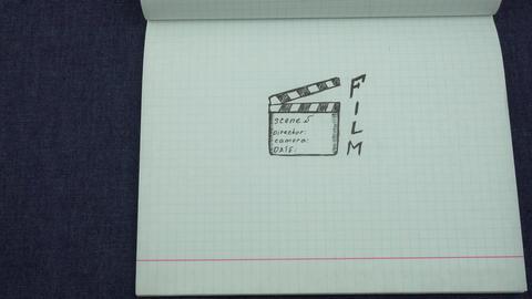 Denim and film Footage