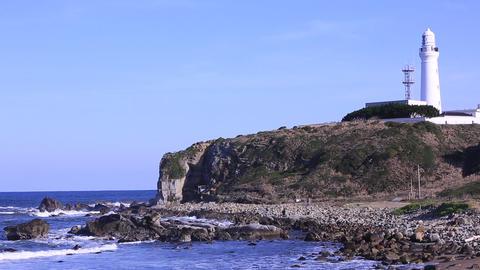 [alt video] Lighthouse and sea