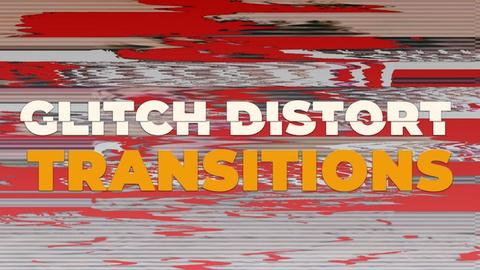 Glitch Distort Transitions Premiere Pro Effect Preset