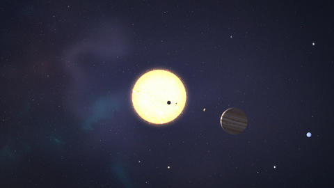 [alt video] Solar system animation