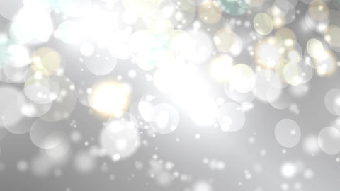 Moving bokeh lights - abstract animation for background grey Animation