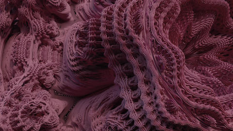4K Abstract Expanding Fractal Pattern Footage