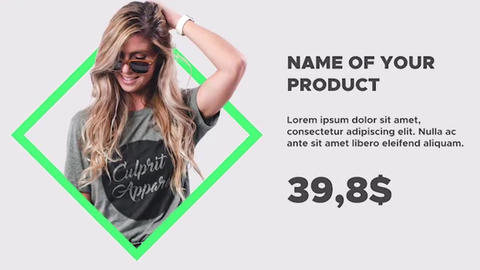 Fashion Market Premiere Pro Template